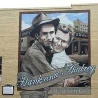 Mural: Hank Williams Marriage Garage