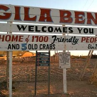 Gila Bend Welcome Sign