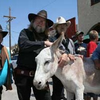 Living Ghost Town: Burros and Gunfights