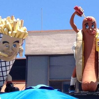 Cannibalistic French Fry and Hot Dog Men