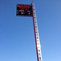 50-Foot-Tall Thermometer