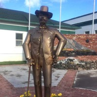 Statue of Abner Weed