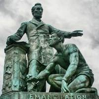 Lincoln Frees a Slave