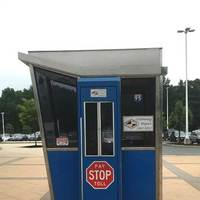 Old Toll Booth From Delaware Turnpike