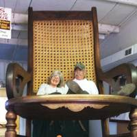 Large Indoor Rocking Chair