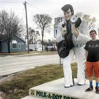 Nine-Foot-Tall Guitar-Playing Elvis