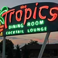 Old Neon: Tropics Dining Room