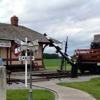 Dine Among the Railroad Collectibles