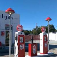 Restored Mobil Gas Station