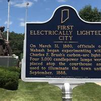 First Electrically Lighted City in the World