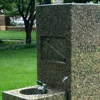 Carry Nation Memorial Drinking Fountain