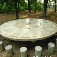 King Arthur's Round Table - Literary Park