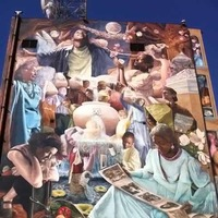 14-Story Mural, Largest in the USA