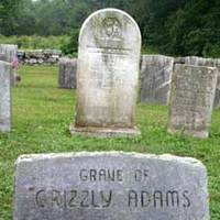 Grave of Grizzly Adams