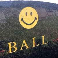Grave of the Smiley Face Inventor