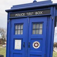 TARDIS Neighborhood Library