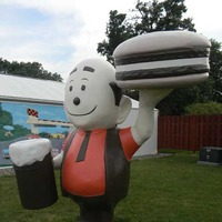 A&W Root Beer Guy