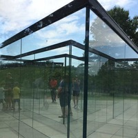 Glass Labyrinth - Outdoor Maze of Glass