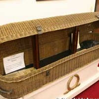 Jesse James' Corpse Basket - Funeral Museum