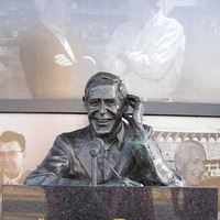 Announcer Jack Buck Monument