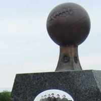 Monument to World's Greatest Girls Basketball Team of 1904