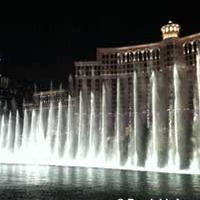 Fountain Show at the Bellagio