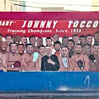 Johnny Tocco Boxing Mural