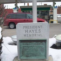 Gas Station Birthplace of Rutherford B. Hayes
