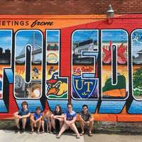 Greetings from Toledo Mural