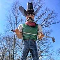 Jeb, Old West Mini-Golf Muffler Man