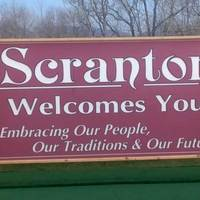 Scranton Welcomes You Sign from The Office
