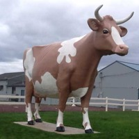 Three-O-Nina the Giant Cow