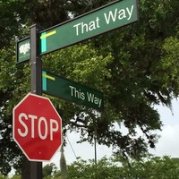 This Way - That Way Streets