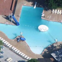 Texas-Shaped Swimming Pool