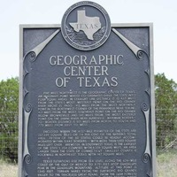 Geographic Center of Texas