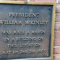 Where William McKinley Became a Freemason