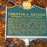 Chester A. Arthur, Born Around Here Somewhere