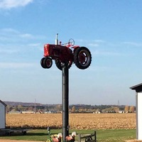 Tractor On A Stick