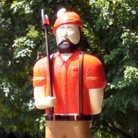 Paul Bunyan and Babe Statues