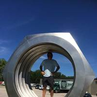 World's Largest Hex Nut