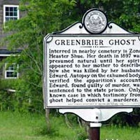 Greenbrier Ghost Trial Marker