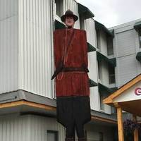 30-Foot-Tall Wooden Mountie