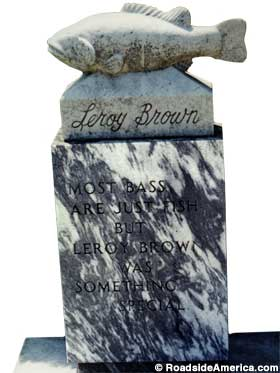 Leroy Brown grave.