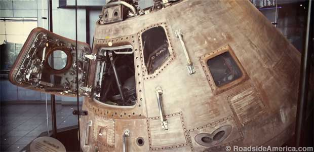 Apollo 16 Command Module.