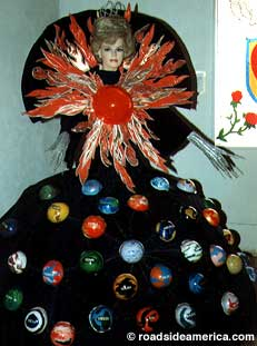 Ruth's Gown of Many Planets, 1993.