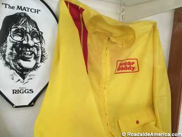 Sugar Daddy windbreaker from the Battle of the Sexes.