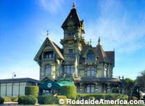 Carson Mansion - Quintessential Haunted House