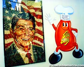 Ronald Reagan in jelly beans.