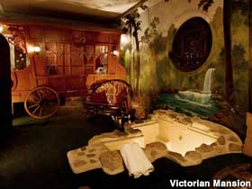Los Alamos Ca Victorian Mansion Hotel Theme Rooms