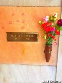 Crypt of Marilyn Monroe.